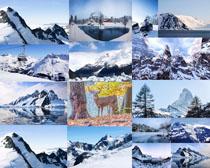 漂亮的冰山风景摄影高清图片