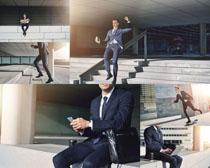 欧美职业商务男人摄影高清图片