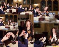 求婚情侣摄影高清图片