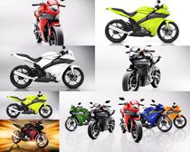 动感摩托车摄影高清图片