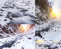雪山风光摄影高清图片