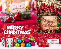 圣诞节日球摄影高清图片
