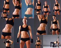 健身身材女人摄影高清图片