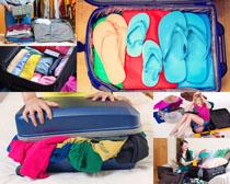 生活行李箱摄影高清图片