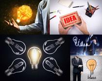 商务小灯泡节能摄影高清图片