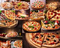 美食披萨拍摄高清图片