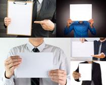 商务男人广告牌摄影高清图片