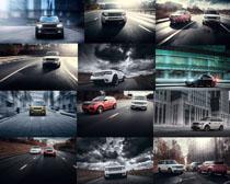 路虎汽车摄影高清图片