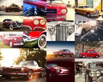 老式轿车摄影高清图片