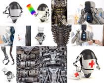 救护机器人摄影高清图片