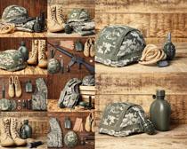 軍隊服裝攝影高清圖片