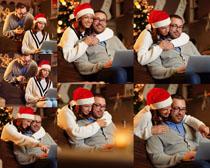 圣诞情侣爱情摄影高清图片