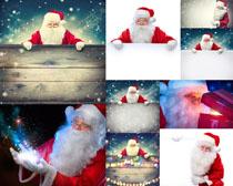 可爱圣诞老人拍摄高清图片