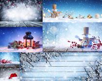 圣诞节装饰素材摄影高清图片