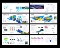 系统管理画册设计矢量素材