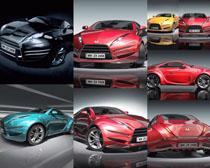 动感跑车拍摄高清图片