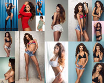 性感欧美模特女子摄影高清图片