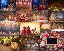 圣诞节礼物装饰拍摄高清图片