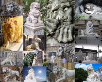 建筑石狮塑像摄影时时彩娱乐网站