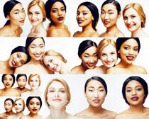 女性脸部摄影高清图片