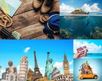 旅游風光雕像攝影高清圖片