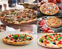 美味披萨食物摄影高清篾片