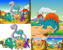 可爱卡通恐龙拍摄高清图片