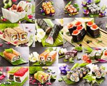 漂亮的壽司攝影高清圖片