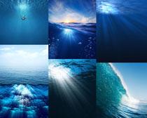 蓝色大海风光拍摄高清图片