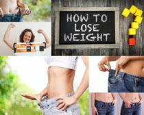 瘦肚子女人摄影高清图片