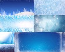 雪背景摄影高清图片