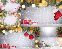 圣诞节背景摄影高清图片