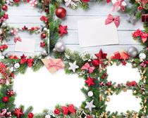 圣诞装饰相框摄影高清图片