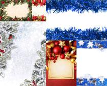 圣诞装饰框拍摄高清图片