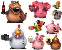可爱卡通动物摄影时时彩娱乐网站