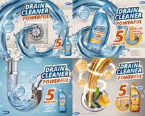 水效洗衣液摄影高清图片