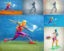 色彩人物拍摄高清图片