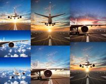 航空飞机运输摄影高清图片