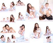 快乐妈咪与宝宝拍摄高清图片