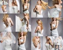 婚纱性感女子摄影高清图片