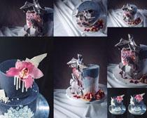 艺术花朵涂料摄影高清图片
