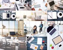笔记本商务办公设备摄影高清图片