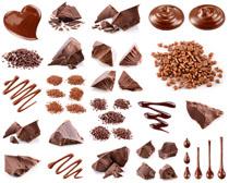 巧克力食物展示摄影高清图片