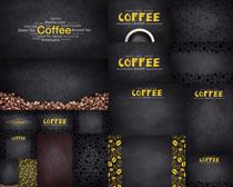 咖啡背景模板摄影高清图片