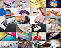 商务金融银行卡摄影高清图片