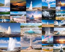 喷泉景观拍摄高清图片