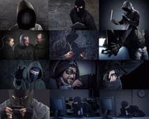 黑客危险人物摄影高清图片