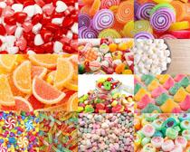 彩色糖果拍摄高清图片