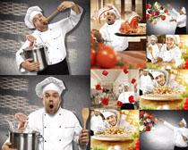 表情厨师摄影高清图片