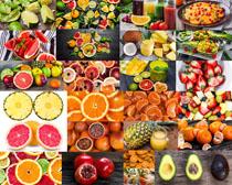 各式水果展示拍摄高清图片